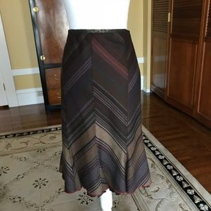 Etro fit & flare skirt